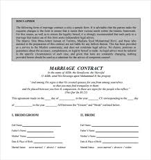 makeup contracts for weddings 16 wedding contract templates free sle exle format