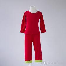 2017 autumn winter boutique green pajamas sleeve top