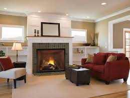 gas fireplace traditional closed hearth built in heirloom