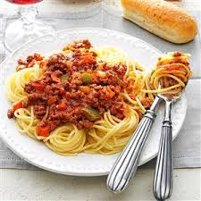 wedding gift spaghetti sauce meat sauce for spaghetti recipe taste of home