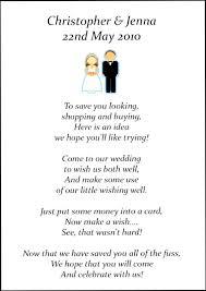 wedding gift honeymoon astounding wedding invite poems asking for money for honeymoon 67