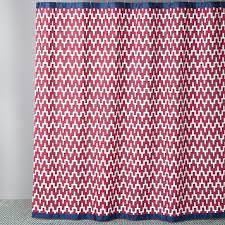 Jonathan Adler Curtains Designs Jonathan Adler Stepped Chevron Shower Curtain Bloomingdale S
