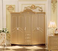 antique solid wood wardrobe design wooden bedroom furniture 5
