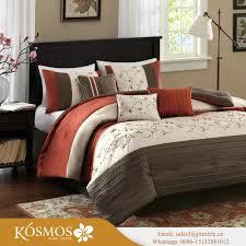 kosmos 100 cotton printing bedding set printed bed sheet set