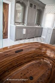 wooden bathtubs amazing luxury wooden bathtubs by nk woodworking seattle luxury