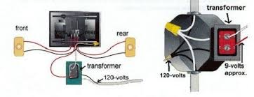 wiring diagram for doorbell transformer wiring wiring diagrams