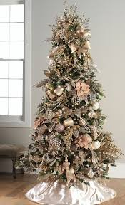 pretty in pink christmas tree okay fine rose gold pink