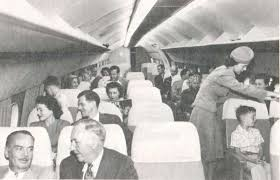 Lockheed Constellation Interior The Jetmakers Costs Into The Stratosphere
