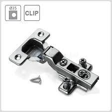 kitchen cabinet hinge screws kitchen cabinet cupboard wardrobe clip on hinges half overlay eu