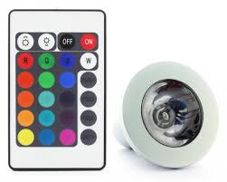 color changing light bulb with remote 3w led 16 colour changing light bulb with remote controller