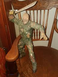 jason voorhees coffee table 2003 18in jason voorhees action figure neca motion activated sound