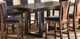 julian extendable rectangular counter height dining table from