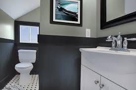 wall paint ideas for bathrooms gray backsplash white real wood small vanity granite