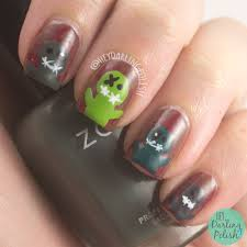 nail art zombie beautify themselves with sweet nails