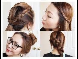 easy and simple hairstyles for school dailymotion long hairstyles easy and fast for school fascinating cool simple