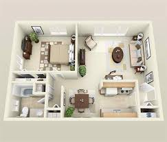 one bedroom apartment plan 20 one bedroom apartment plans for singles and couples home
