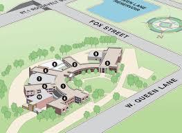 Map Of Queens Queen Lane Campus Map Drexel University