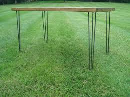 Outdoor Table Legs Rustic Table Legs Square Metal Industrial Frames Custom