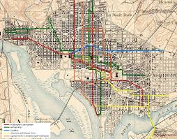 Nyc Subway Map With Street Overlay by Image From Http Dclibrary Org Sites Default Files Metrobus Map
