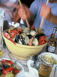 kitchen clambake recipe fresh seafood clams and beach