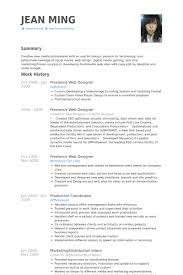 Post Resume Online by Excellent Resume Of A Web Designer 56 On Create A Resume Online