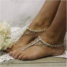 barefoot sandals wedding something silver barefoot sandals silver wedding foot jewelry