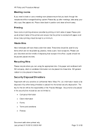 desk procedures template eliolera com