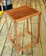 kent solid ash table clock products furniture cubes and coffee tables wilkins and kent