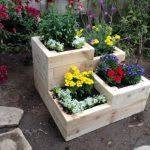 Backyard Planter Box Ideas Garden Garden Flower Boxes Best Planter Boxes Ideas On Pinterest