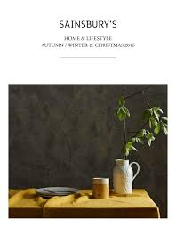 sainsburys kitchen collection sainsbury u0027s home u0026 lifestyle autumn winter u0026 christmas 2016 by