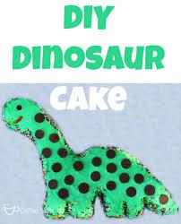 diy dinosaur cake coffee with us 3