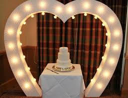 wedding arch lights led event hire items led letters led arch pretty white