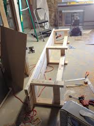 wanted to make an 8ft long bench for our deck seating 15 6
