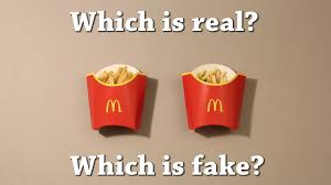 Challenge Real Test Which Is Real Mcdonald S Fries Drawing Challenge