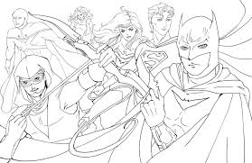 young justice league coloring pages get coloring pages