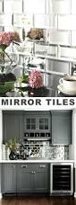 mirror tiles beautiful kitchen design with white color visit full image for 11 stunning tile ideas for your home i love mirror tiles kitchen