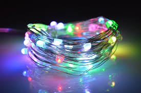 o best 2m 6 5ft 20 led multi color string lights battery operated