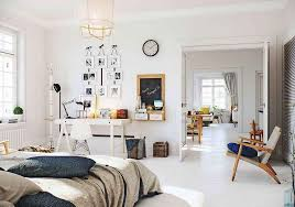 Nordic Inspiration Exquisite Scandinavian Apartment In White - Scandinavian design bedroom furniture