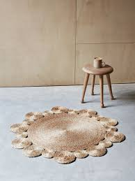 Round Flower Rug by Flower Weave Daisy Rug By Armadillo U0026 Co