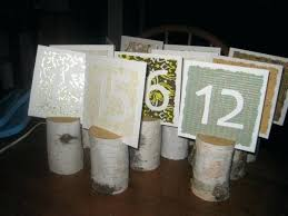 diy table number holders table number holders diy liftechexpo info