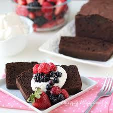 chocolate hazelnut pound cake u0026 vanilla whipped cream