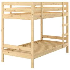 A Frame Bunk Bed Mydal Bunk Bed Frame Pine 90x200 Cm Ikea