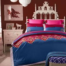 Cotton Bed Linen Sets - embroidered bedding set bed sheet bedclothes duvet cover bed