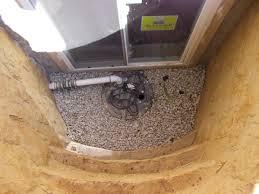 preparation to install an basement egress windows