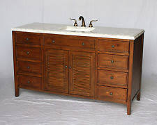 60 Inch Vanity With Single Sink Cottage Vanity Ebay
