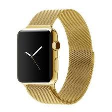 stainless steel gold bracelet images Apple watch band decouart milanese loop stainless steel gold bracelet jpg