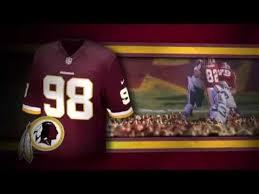 washington redskins uniform and uniform color history youtube