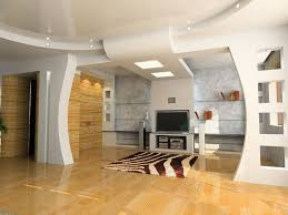 home architecture design decorative gypsum board ceiling for living room with recessed