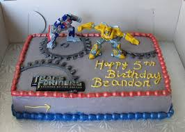 transformer cake transformers prime edible party cake topper image sheet mr