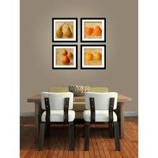 dining room framed art imagine letters four 10 in x 10 in